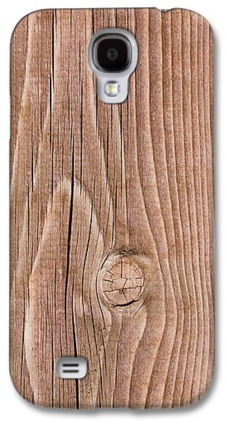 Knotty Wood - Featured 2 Galaxy S4 Case by Alexander Senin