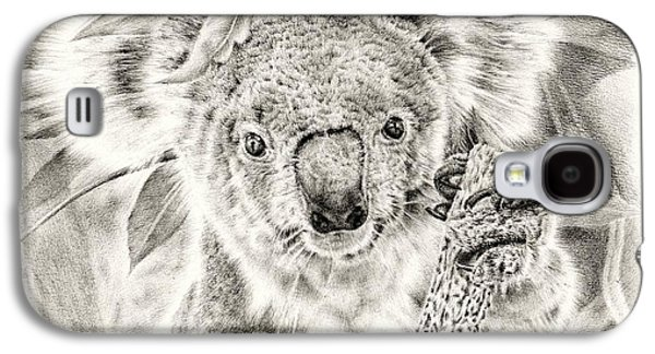Koala Garage Girl Galaxy S4 Case by Remrov