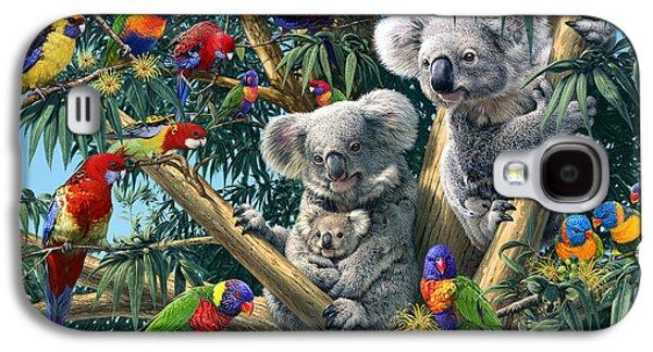 Koala Outback Galaxy S4 Case by Steve Read