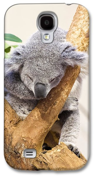 Koala Sleeping  Galaxy S4 Case by Chris Flees