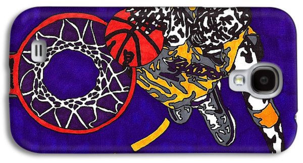 Kobe Bryant Galaxy S4 Case by Jeremiah Colley