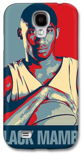 Kobe Bryant Galaxy S4 Case by Taylan Apukovska