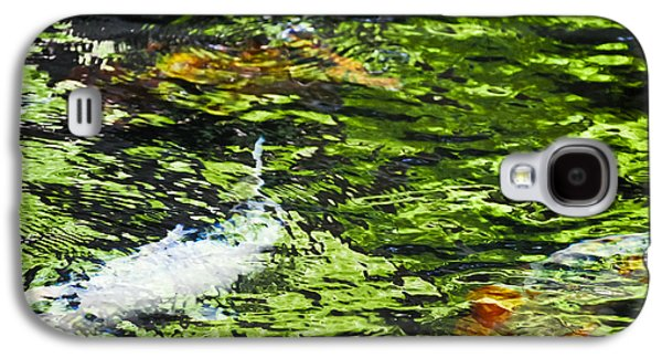 Koi Pond Galaxy S4 Case by Christi Kraft