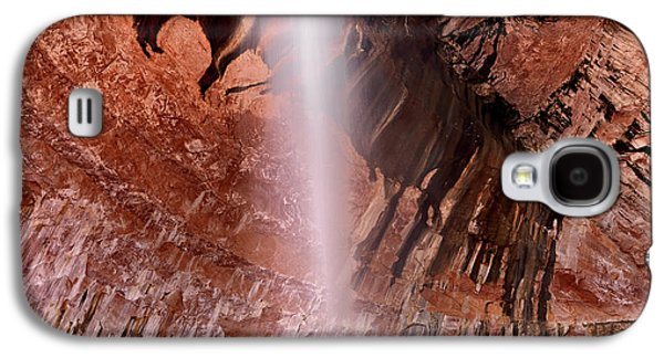 Kolob Canyons Waterfall Galaxy S4 Case by Leland D Howard