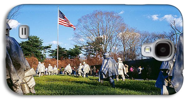 Korean Veterans Memorial Washington Dc Galaxy S4 Case by Panoramic Images