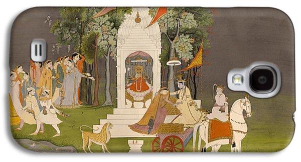 Krishna Abducting Rukmani From The Temple Galaxy S4 Case