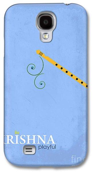 Krishna The Playful Galaxy S4 Case by Tim Gainey