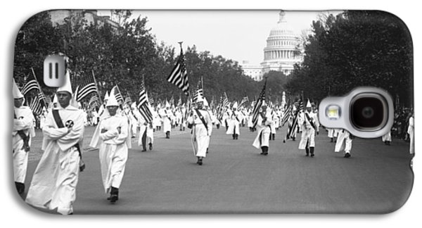 Ku Klux Klan Parade Galaxy S4 Case by Library of Congress