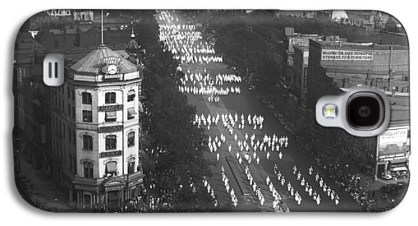 Capitol Building Galaxy S4 Case - Ku Klux Klan Parade by Underwood Archives