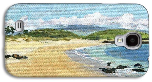 Kuau Sandy Beach Maui Galaxy S4 Case by Stacy Vosberg