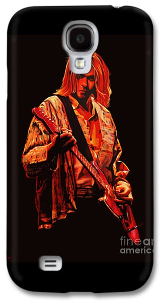 Kurt Cobain Painting Galaxy S4 Case by Paul Meijering