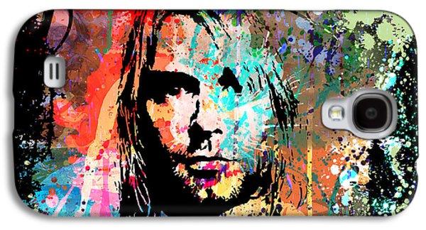 Kurt Cobain Portrait Galaxy S4 Case