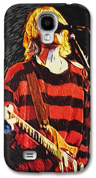 Kurt Cobain Galaxy S4 Case by Taylan Apukovska