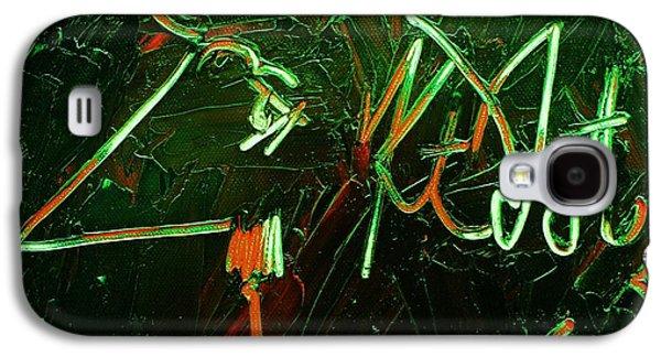 Kurt Vonnegut Galaxy S4 Case by Michael Kulick