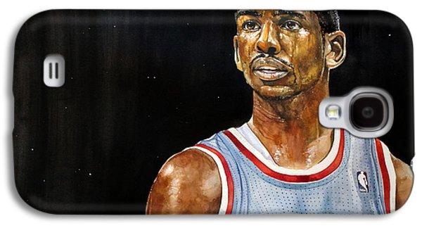 La Clippers' Chris Paul  Galaxy S4 Case by Michael  Pattison