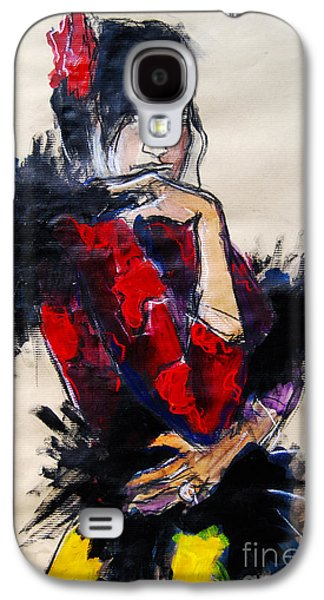 La Gitane - Pia #1 - Figure Series Galaxy S4 Case by Mona Edulesco