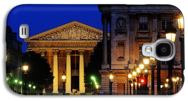 La Madeleine At Night Galaxy S4 Case by Colin Woods