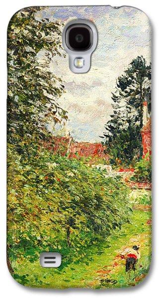 La Maison Des Anglais Eragny Galaxy S4 Case by Celestial Images