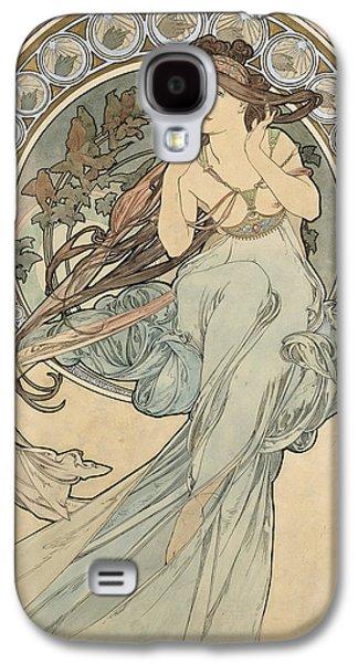 La Musique, 1898 Watercolour On Card Galaxy S4 Case by Alphonse Marie Mucha