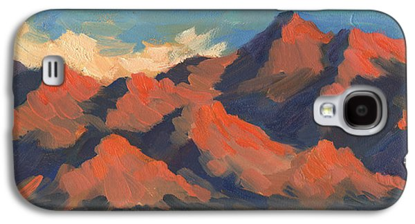 La Quinta Mountains Morning Galaxy S4 Case by Diane McClary