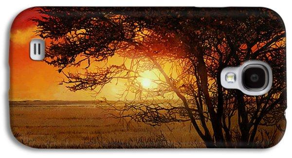 La Savana Al Tramonto Galaxy S4 Case by Guido Borelli