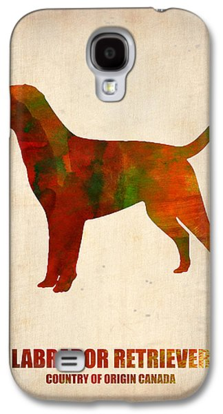 Labrador Retriever Poster Galaxy S4 Case by Naxart Studio