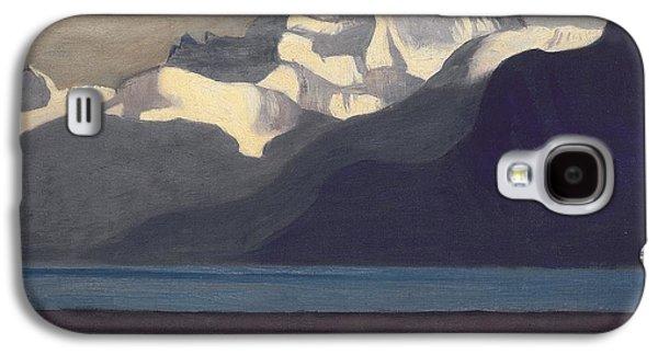 Lac Leman And Les Dents-du-midi Galaxy S4 Case by Felix Edouard Vallotton