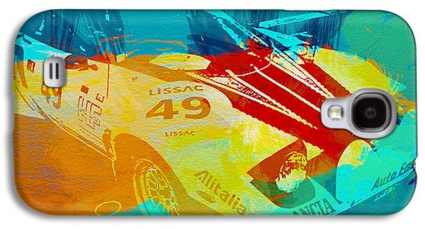 Lacia Stratos Watercolor 1 Galaxy S4 Case