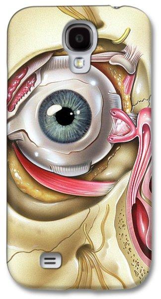 Lacrimal Apparatus Of The Eye Galaxy S4 Case by John Bavosi