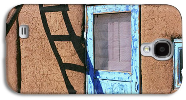 Ladder Leaning Against A House, Taos Galaxy S4 Case