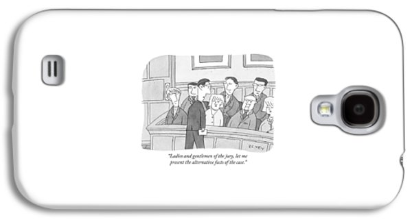 Ladies And Gentlemen Of The Jury Galaxy S4 Case