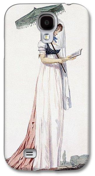 Ladies Elegant Summer Dress Galaxy S4 Case by English School