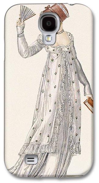Ladies Evening Dress, Fashion Plate Galaxy S4 Case by English School