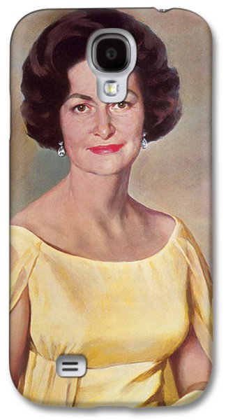 Lady Bird Johnson, First Lady Galaxy S4 Case