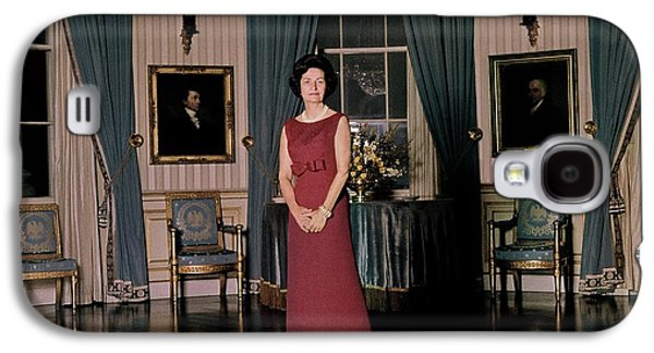 Lady Bird Johnson In The White House Galaxy S4 Case by Horst P. Horst