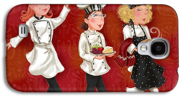 Lady Chefs - Lunch Galaxy S4 Case