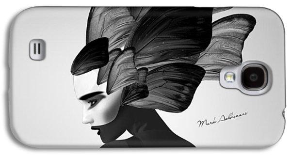 Lady D  Galaxy S4 Case by Mark Ashkenazi