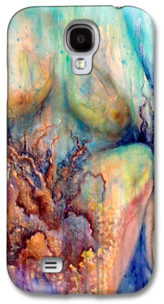 Lady In The Reef Galaxy S4 Case