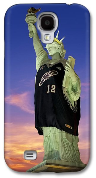 Lady Liberty Dressed Up For The Nba All Star Game Galaxy S4 Case
