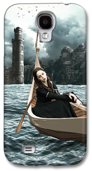 Lady Of Llyn-y-fan Fach Galaxy S4 Case by Linda Lees