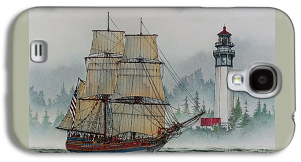 Lady Washington At Grays Harbor Galaxy S4 Case by James Williamson