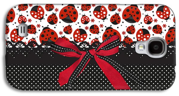 Ladybug Energy  Galaxy S4 Case by Debra  Miller