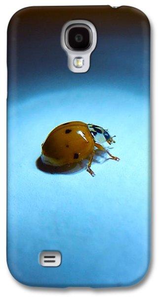 Ladybug Under Blue Light Galaxy S4 Case by Marc Philippe Joly