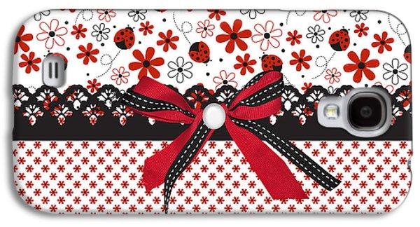 Ladybug Whisper  Galaxy S4 Case by Debra  Miller
