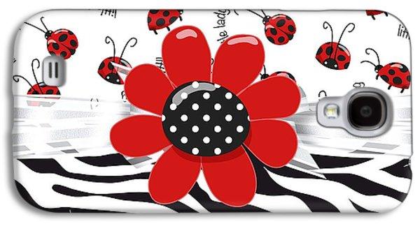 Ladybug Wild Thing Galaxy S4 Case