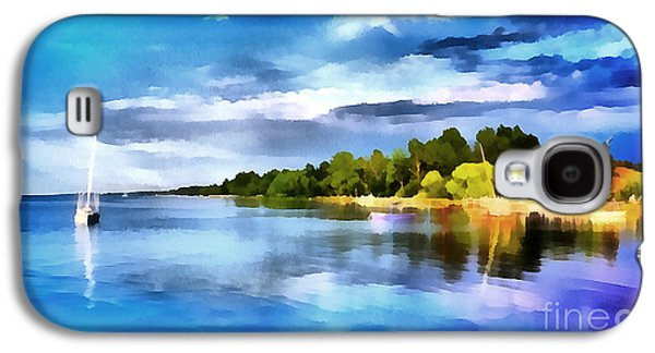 Lake Balaton At Summer Galaxy S4 Case