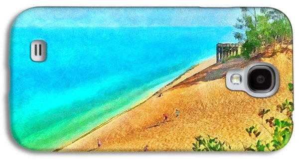 Lake Michigan Overlook On The Pierce Stocking Scenic Drive Galaxy S4 Case