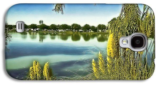 Lake Mindon Campground California Galaxy S4 Case by Bob and Nadine Johnston