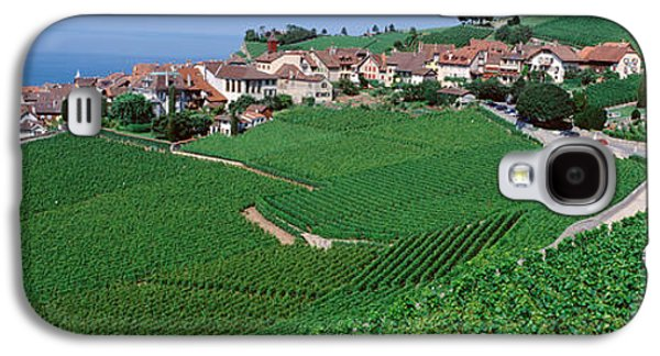 Lake Of Geneva, Vineyards, Rivaz Galaxy S4 Case
