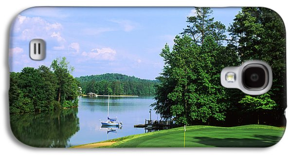 Lake On A Golf Course, Legend Course Galaxy S4 Case by Panoramic Images